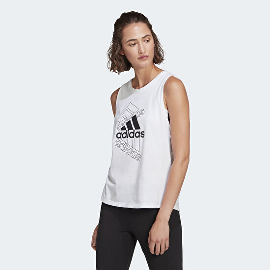 Picture of adidas Essentials Stacked Logo Tank Top