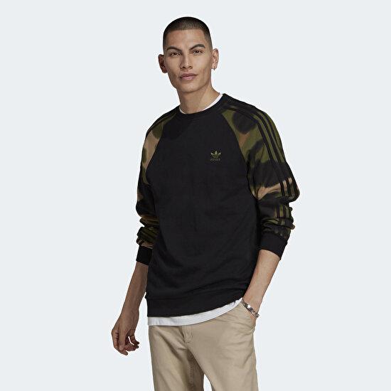 Picture of Camo Stripes Crewneck Sweatshirt