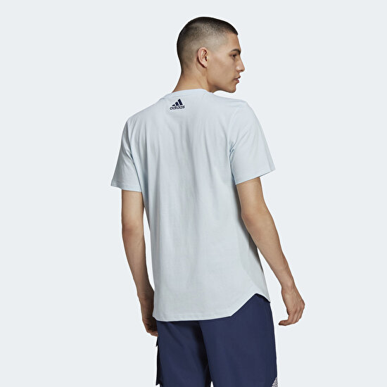 Picture of TAN Heavy Cotton Graphic Tee