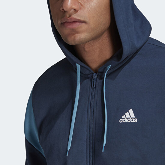 Picture of ADIDAS SPORTSWEAR RIBBED INSERT TRACK SUIT