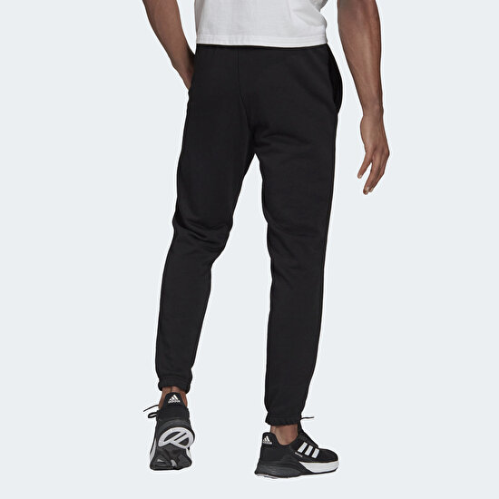 Picture of Essentials French Terry Tapered Elastic Cuff Logo Pants