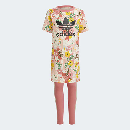 Picture of HER Studio London Floral Tee Dress Set
