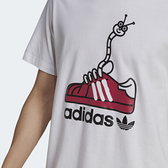 Picture of Worm Shoe Print Tee