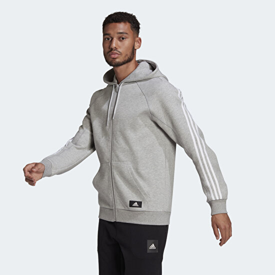 Picture of adidas Sportswear 3-Stripes Hooded Track Top