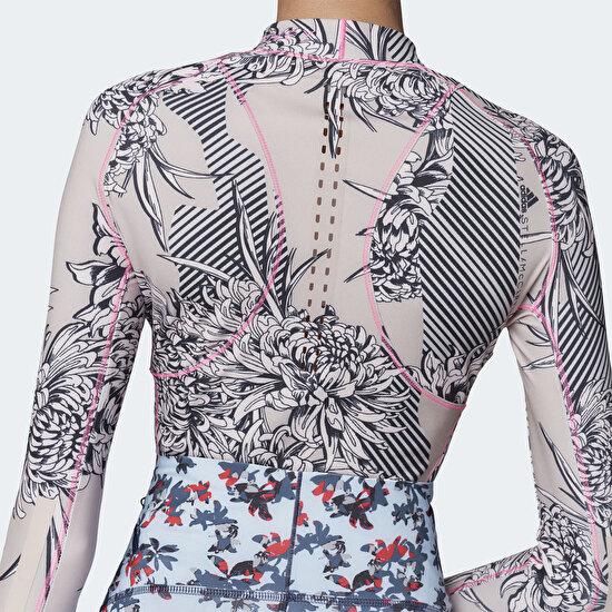 Picture of adidas by Stella McCartney TruePurpose Allover Print Long Sleeve Shirt