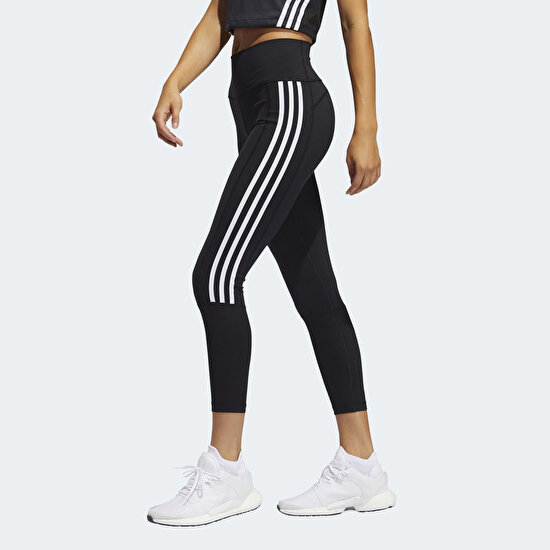 Picture of Believe This 2.0 3-Stripes Ribbed 7/8 Tights