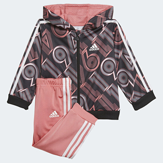 Picture of Shiny Bold 49 Allover Print Jogger Set