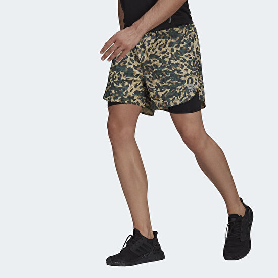 Picture of Fast Two-in-One Primeblue Graphic Shorts
