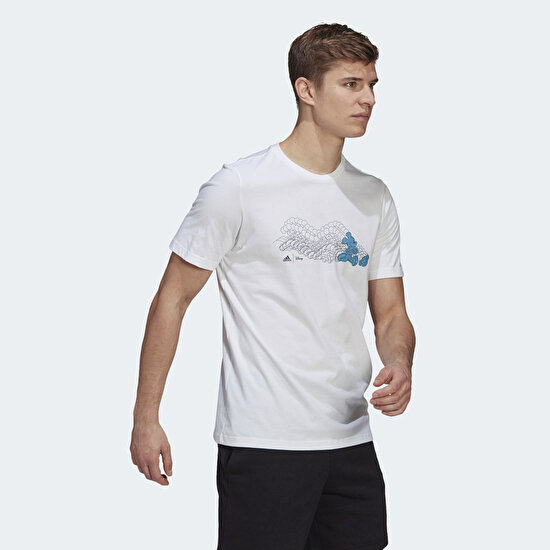 Picture of adidas x Disney Mickey in Motion Football Graphic Tee