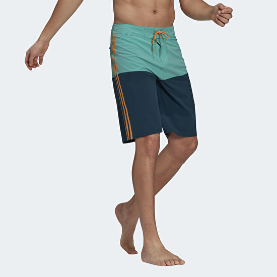 Picture of Knee-Length Colorblock Board Shorts
