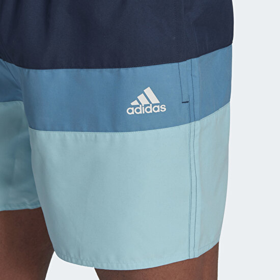 Picture of Short-Length Colorblock Swim Shorts